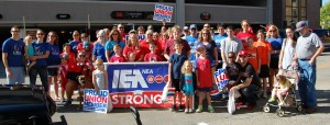 IEA Members March in 2013 Labor Day Parade