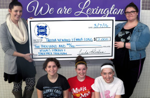 Two Lexington Education Association members win $1,000 SCORE grants from the IEA