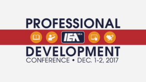REGISTER NOW: IEA Professional Development Conference Dec. 1-2, 2017